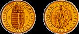 II. János Pál Pápa magyarországi látogatása emlékére - aranyérme