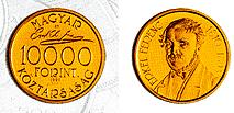 Erkel Ferenc halálának 100. évfordulója - aranyérme