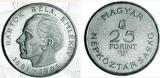 1961 Bartók Béla - ezüstérme