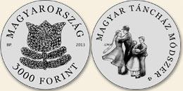 Magyar Táncház Módszer - Ag (ezüstérme)