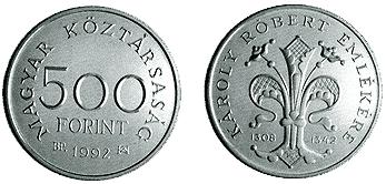 Károly Róbert halálának 650. évfordulója - ezüstérme