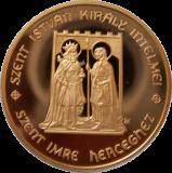 SZENT ISTVÁN KIRÁLY INTELMEI SZENT IMRE HERCEGHEZ - ARANYÉRME