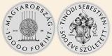 2015 TINÓDI (LANTOS) SEBESTYÉN  - Ag (ezüst érme)