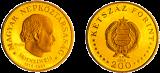 Semmelweis Ignác születésének 150. évfordulója - aranyérme