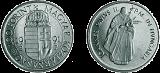II. János Pál Pápa magyarországi látogatása emlékére - színesfém érme