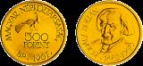 Kosály Zoltán születésének 85. évfordulója - aranyérme