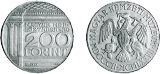 Magyar Nemzeti Múzeum alapításának 175. évfordulója - ezüstérme