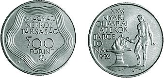 Nyári Olimpiai Játékok - Barcelona 1992 - ezüstérme