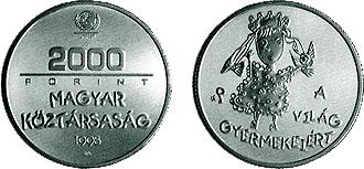 1998 A VILÁG GYERMEKEIÉRT - EZÜSTÉRME