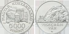 MAGYAR VÁRAK I. - VISEGRÁDI VÁR - EZÜSTÉRME