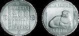 Természetvédelmi érmesor - vidra - ezüstérme