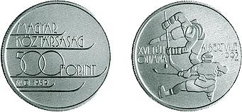 Téli Olimpiai Játékok - Albertville 1992 - ezüstérme