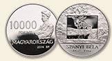 Spányi Béla (1852-1914) halálának 100. évfordulója - ezüstérme