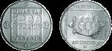 Természetvédelmi érmesor - teknős - ezüstérme