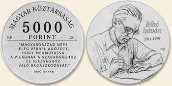 2011 BIBÓ ISTVÁN SZÜLETÉSÉNEK 100. ÉVFORDULÓJA - EZÜSTÉRME