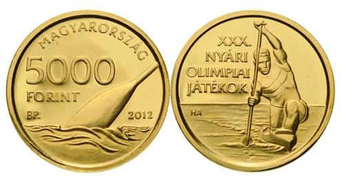 XXX. Nyári Olimpia - aranyérme