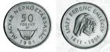 Liszt Ferenc Születésének 150. évfordulója - ezüstérme