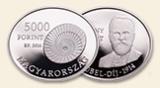 Bárány Róbert  (1876-1936)  - ezüstérme