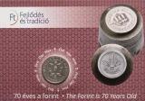 2016 70 éves a Forint - érme első napi veret