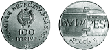 1972 BUDA - PEST EGYESÍTÉSÉNEK 100. ÉVFORDULÓJA - EZÜSTÉRME