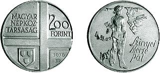 1976 MAGYAR FESTŐK I. - EZÜSTÉRME