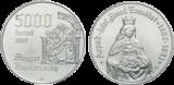 2007 ÁRPÁD-HÁZI SZENT ERZSÉBET SZÜLETÉSÉNEK 800. ÉVFORDULÓJA - EZÜSTÉRME
