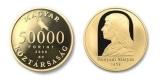 HUNYADI MÁTYÁS TRÓNRA LÉPÉSÉNEK 550. ÉVFORDULÓJA - ARANYÉRME