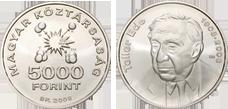 2008 TELLER EDE SZÜLETÉSÉNEK 100. ÉVFORDULÓJA - EZÜSTÉRME