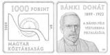 BÁNKI DONÁT (1859-1922) SZÜLETÉSÉNEK 150. ÉVFORDULÓJA - SZINESFÉM ÉRME