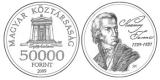 KAZINCZY FERENC SZÜLETÉSÉNEK 250. ÉVFORDULÓJA - ARANYÉRME